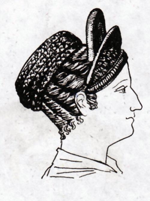 Прическа Древнего человека. История прически