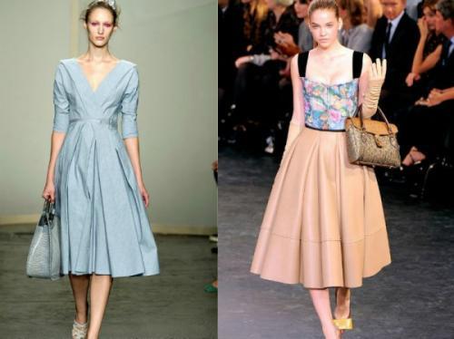 Нью-лук стиль в одежде для полных. Одежда в стиле нью лук: фото, модные образы, сочетания
