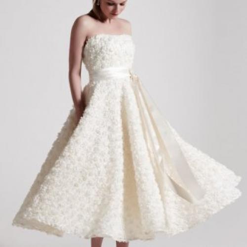 Платья в стиле нью-лук. Свадебные платья в стиле New Look