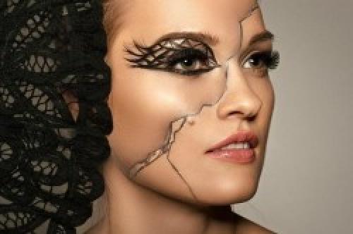 Фантазийный макияж-рисунок. Современный make-up: особенности фантазийного макияжа