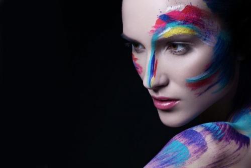 Эскиз фантазийного макияжа. Фантазийный макияж, осваиваем необычный художественный make up