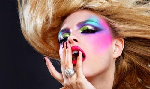 Авангардный вечерний макияж. Типы авангардного макияжа
