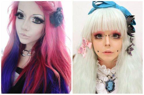 Авангардный макияж аниме. Осваиваем аниме макияж. Как стать мультяшкой?!