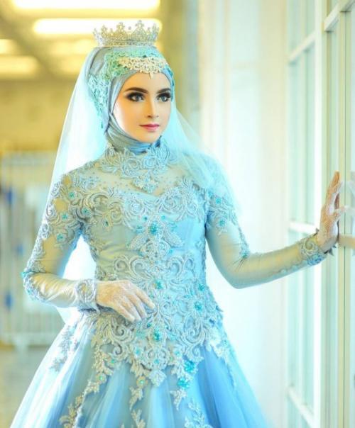 Свадебные Прически для мусульманок. Варианты свадебных нарядов для мусульманской невесты:
