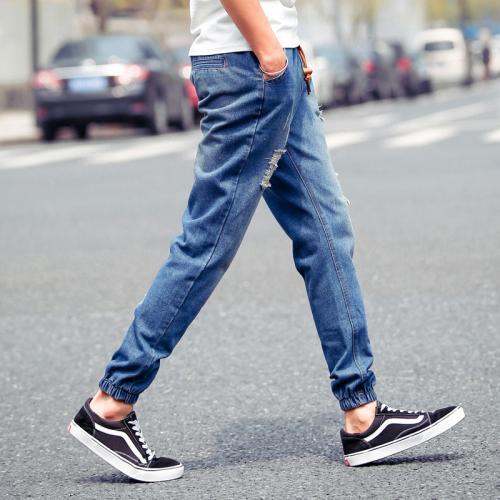 Джинсы с резинкой внизу мужские. Как называются мужские джинсы с резинкой внизу?