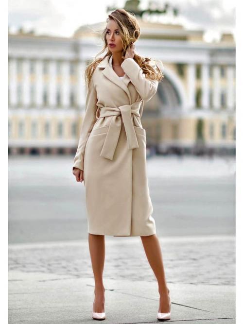 С каким пальто носить платье миди. С чем носить женское пальто миди