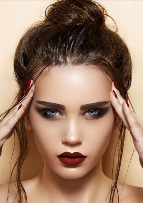Вечерний макияж для глаз. Каким должен быть красивый вечерний макияж: особенности и пошаговые советы
