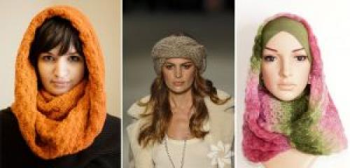 Как на голову завязать зимний шарф. Как завязывать зимний шарф на голову