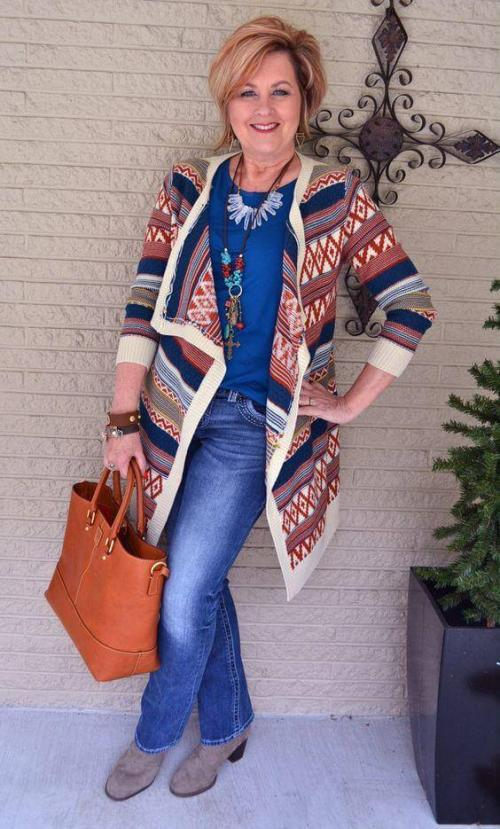 Мода за 40 для женщин. Осенний гардероб