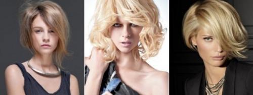 Прически для тонких волос волнистых. Боб – вариант для уверенных в себе леди, не боящихся смелых экспериментов