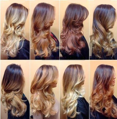 Русый цвет волос каре. Балаяж на прямые и кудрявые русые волосы: особенности выполнения