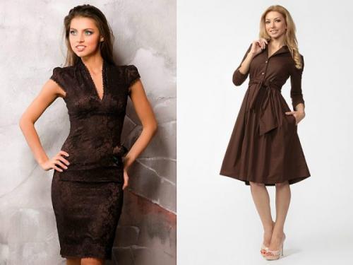 Светло коричневый цвет в одежде. Актуальные оттенки коричневого
