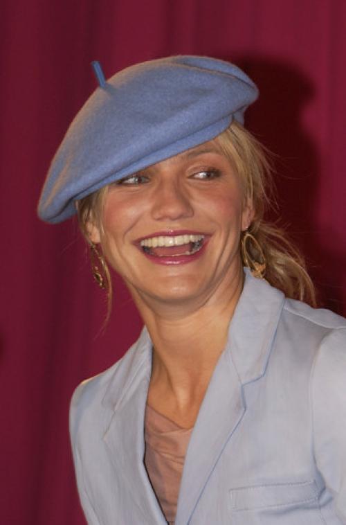 Вязаные шапки на круглое лицо. Подбор шапки по форме лица: