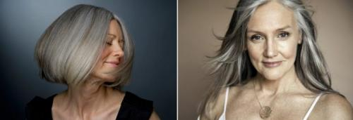 В какой цвет лучше красить седые волосы женщинам посл.  5 оттенков волос для закрашивания седины, которые молодят