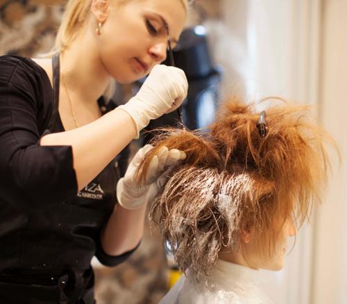Шатуш с челкой на светлые волосы. Как сделать шатуш на светлые волосы в домашних условиях