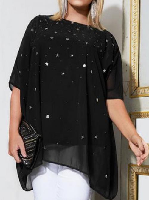 Декор белой рубашки своими руками. Украшение блузки пайетками