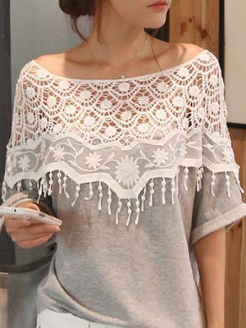 Как своими руками украсить белую рубашку. Оригинальное украшение блузки кружевом