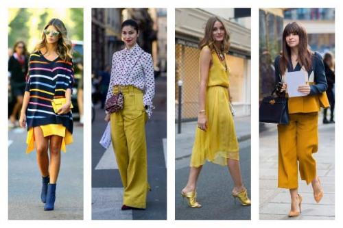 Желтый цвет кому идет. Цвет солнца и золота: как подобрать желтый цвет в одежде по цветотипу