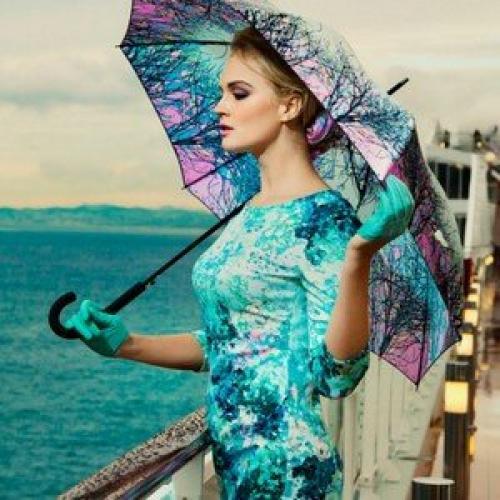 Какие сейчас зонты в моде. Модные женские зонты 2019 года – новинки сезона с фото
