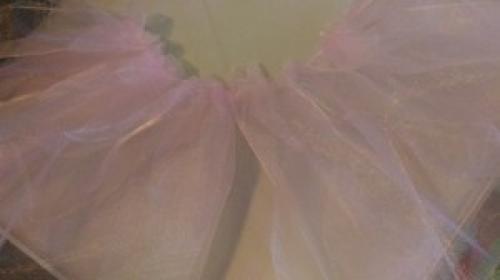 Пышная юбка из органзы. Юбка из органзы