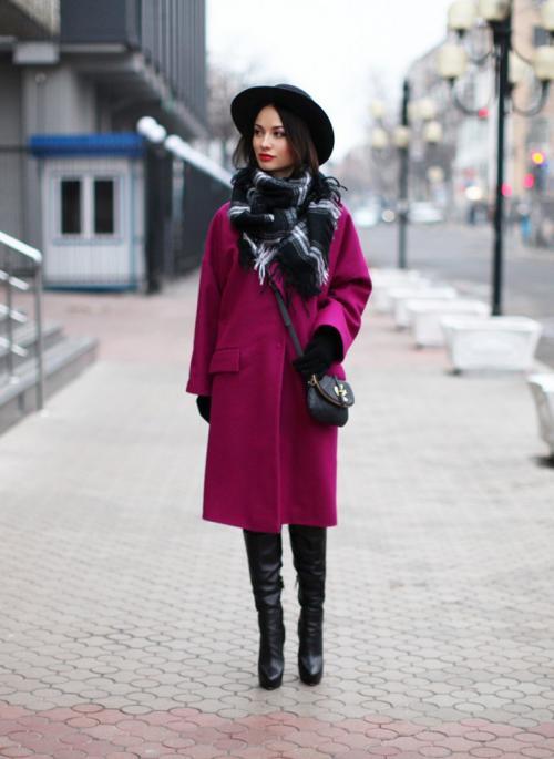 Какие головные уборы носят с пальто женщины. В зависимости от стиля пальто…