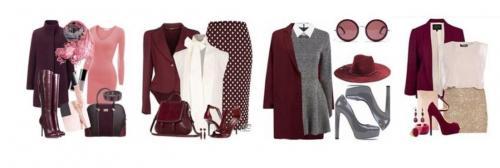 Цвет бордовый в моде. Как сочетать бордовый цвет в одежде?