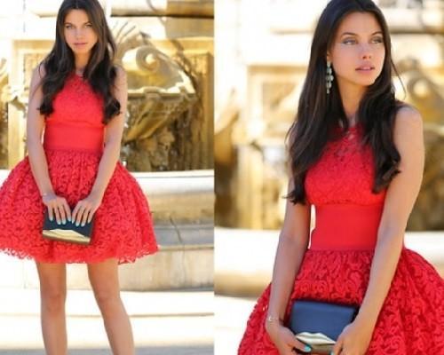 Обувь под красное платье в пол. Какие платья в моде этим летом?