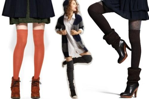 Высокие гетры с чем носить. С чем можно носить гетры, под какую одежду