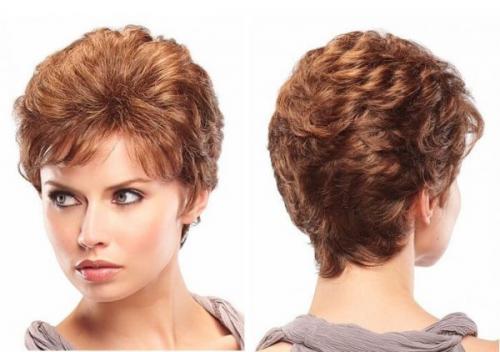 Формы стрижек для тонких коротких вьющихся волос. Особенности стрижек для вьющихся волос