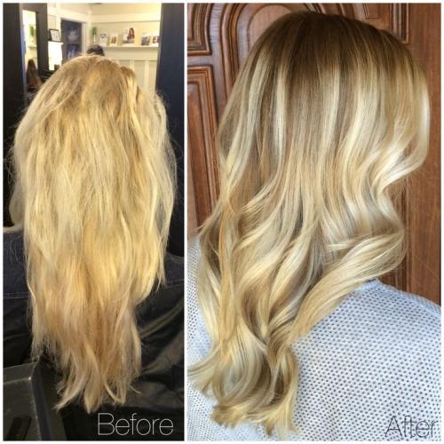 Как вернуть русый цвет волос из блонда. Из блонда в русый: окрашивание волос