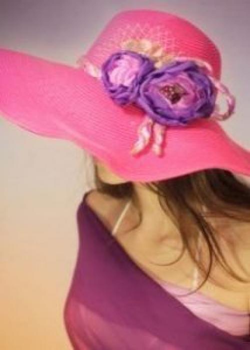 Как украсить шляпу цветами. Как украсить шляпу