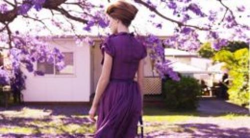 Сливовый цвет платья. Сливовый цвет в одежде: сочные сочетания!