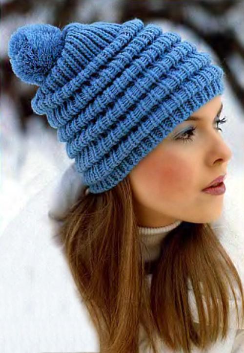 Как оформить верх вязаной шапки. Как закончить вязание шапки