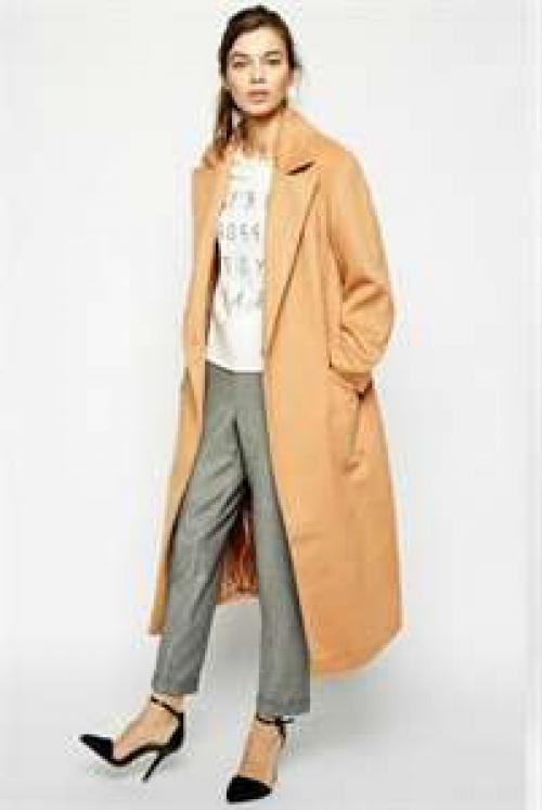 Длинное зимнее пальто с чем носить. Разные модели пальто