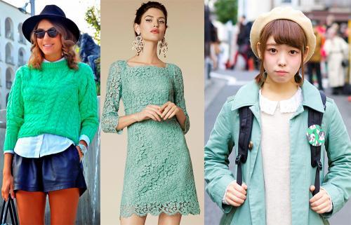 Цвет ментол это, какой цвет. Ментоловый цвет в одежде - модная тенденция 2013 года 07