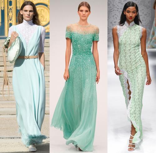 Цвет ментол это, какой цвет. Ментоловый цвет в одежде - модная тенденция 2013 года 11