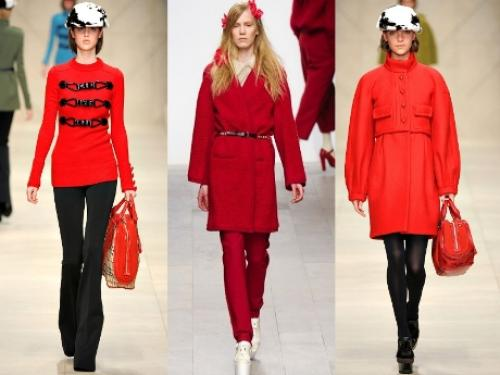 Черный цвет в одежде значение. Красный – вы в центре внимания!