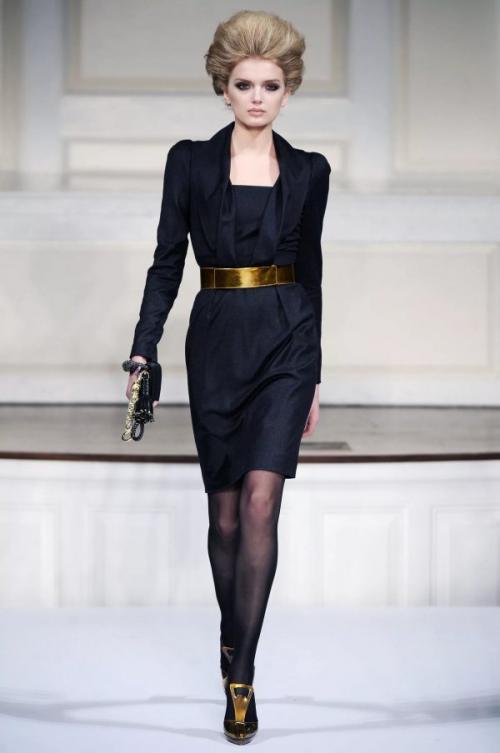 Мода женщинам з.  Вечерний лук