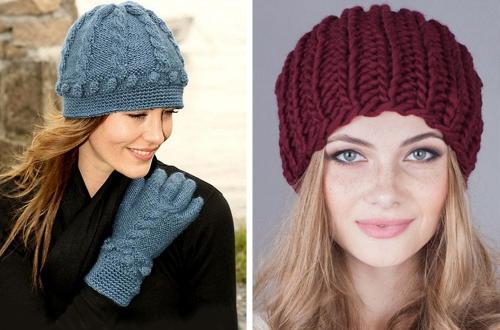 Стильные шапки для женщин в возрасте 45 лет. Как подобрать шапку под тип внешности