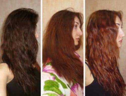 Как убрать краску с волос. Как смыть черную краску