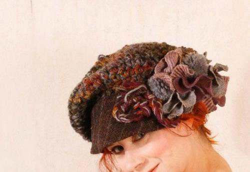 Головные уборы для женщин после 40 лет зимние. Модные вязаные шапочки, которые подойдут стильным дамам после 40 лет для зимы 2019-2020