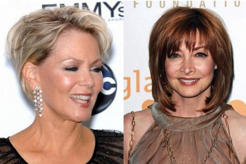 Стрижки для женщин после 40 лет с круглым лицом. Правила выбора стрижек после 40 лет