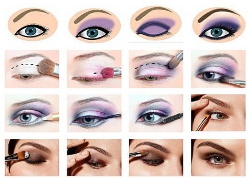 Визаж уроки. Как научиться самим делать правильно макияж