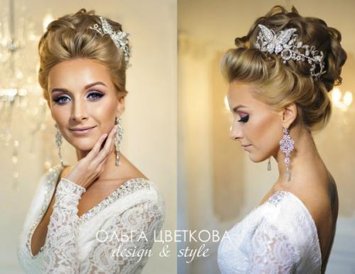 Прически на свадьбу для невесты поэтапно