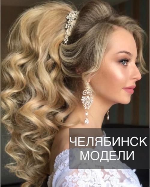 Фото причесок невест короткий волос
