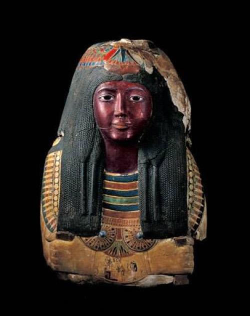 Прическа Древнего Египта. Декоративной косметикой в древнем Египте.
