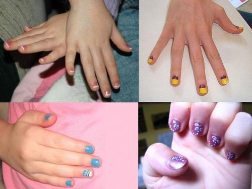 Красивые ногти для детей