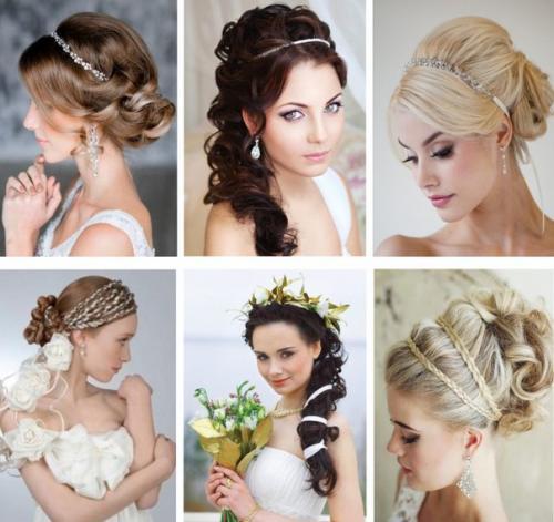 Какие модные прически на свадьбу