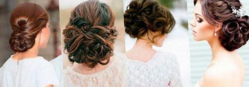 Свадебные прически до плеч волос