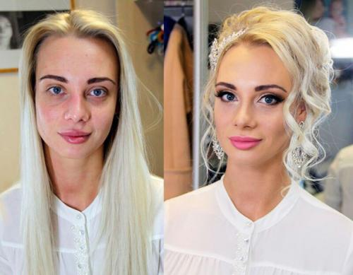 макияж и прическа на дому москва цена